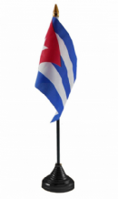 CUBA - Table Flag